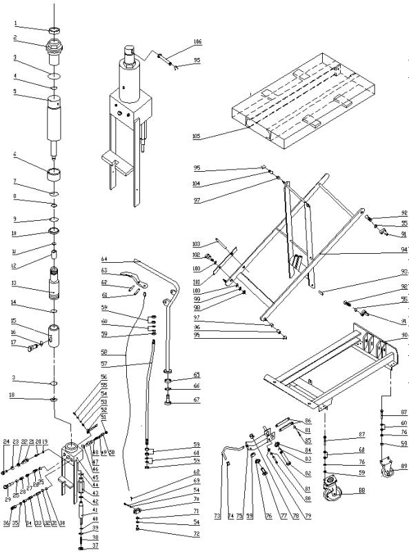 bs wiring diagram symbols with Pallet Jack Parts Diagram on Biological Wiring Diagram also Schematic On Hydraulic Diverter Valve besides Conveyor Oven Wiring Diagram besides Delay On Break Timer Wiring Diagram in addition Pallet jack parts diagram.